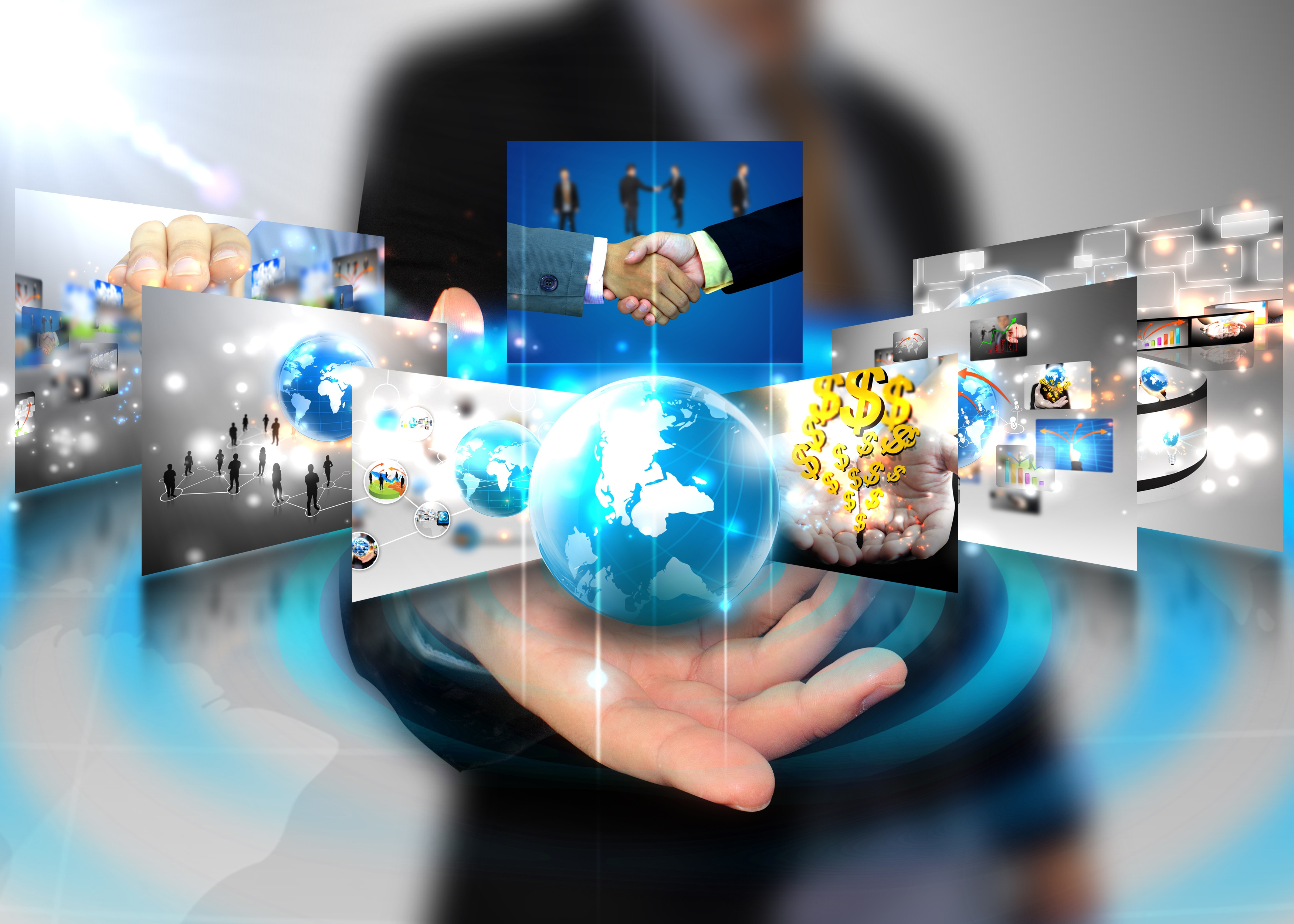 how does the use of internet intranets and extranets by companies today support their business proce